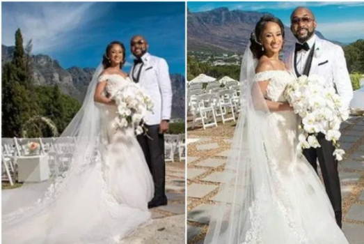 Banky W mistakenly shares unclad video of new Bride Adesua