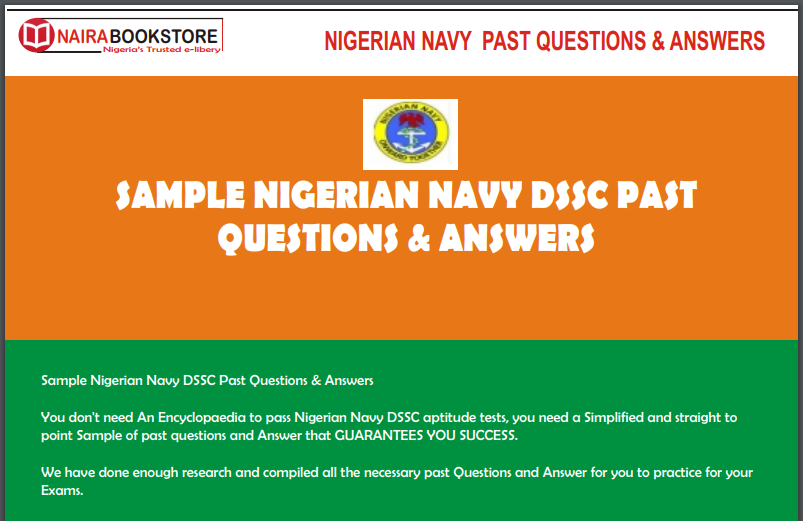 nigeria prison service recruitment past questions and answers