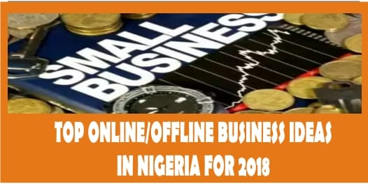 Top Online/Offline Business Ideas In Nigeria For 2018 PDF Download