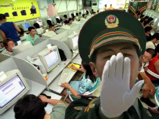 China shuts websites