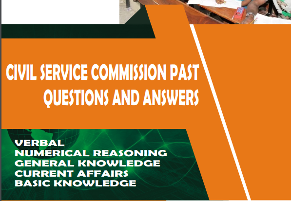Civil Service Commission Recruitment Past Questions And Answers PDF Download
