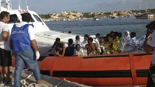 Nigeria returnees from Libya