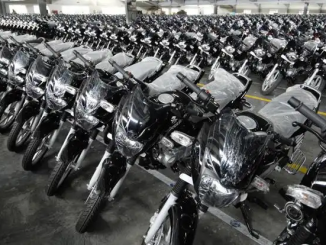 FG motivates extension workers with motorcycles