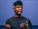 its important for us as govt to ensure that people can walk around free do their business osinbajo