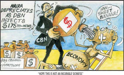 naira down to n360 54 in ie