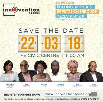 INNOVENTION series SAVETHEDATE 1