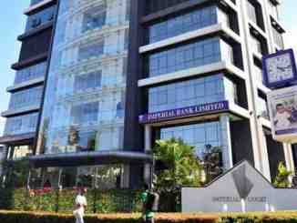Imperial Bank's head office in Nairobi soon after it was placed under the Kenya Deposit Insurance Corporation on October 13 2015 PHOTO FILE NATION MEDIA GROUP