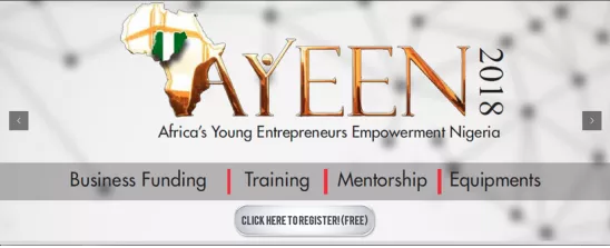 AYEEN 2018 registration