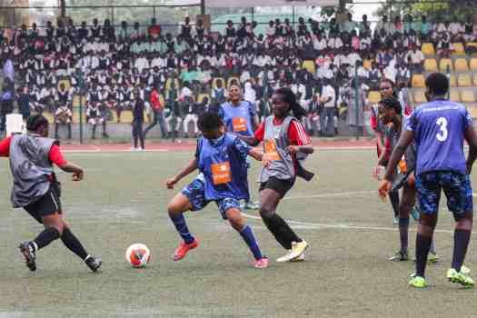 Day match Queens College Yaba VS Corona School Agbara