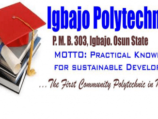 Igbajo Polytechnic Igbajo Osun