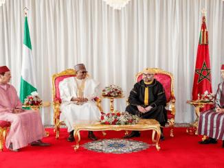 Pictures Of President Muhammadu Buhari In Morroco