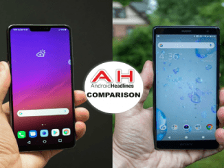 LG G ThinQ vs Sony Xperia XZ