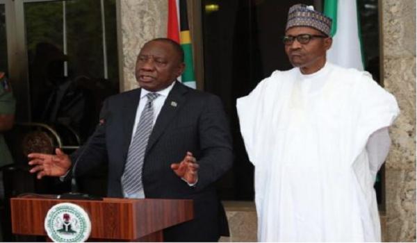 Ramaphosa faces the Nigerian media