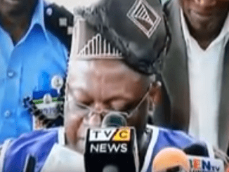 The moment INEC declared Fayemi governor elect