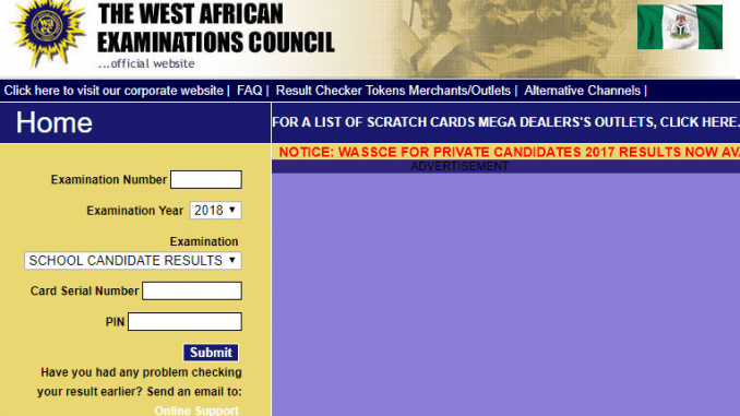 WAEC 2019 Result to be released in one week - how Check WAEC Result via www.waecdirect.org