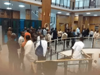 PDP Lawmakers Storm NASS To Resist Speaker's Removal