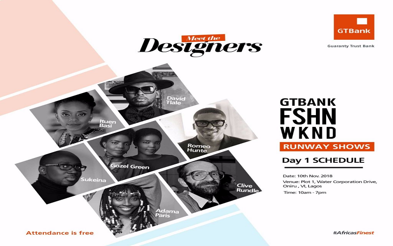 The GTBank Fashion Weekend
