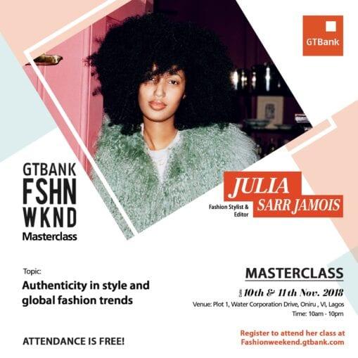fashionweekend social media julia