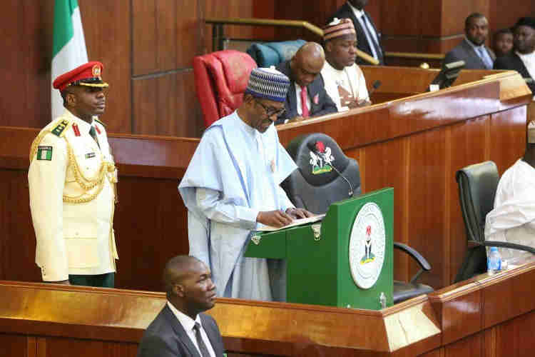 Buhari's Presentation Of Budget