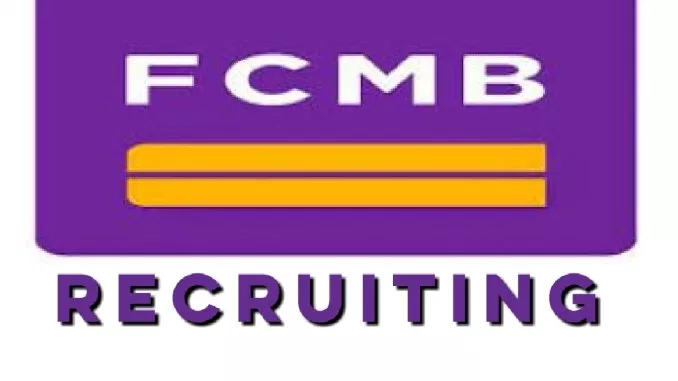 fcmb bank lagos state recruitment see vacancies today