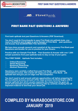 first bank past questions