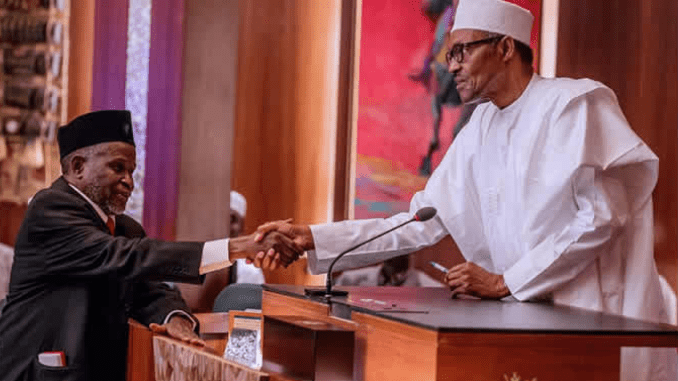 Buhari didn't need NJC to appoint me – Acting CJN – Punch Newspapers AM
