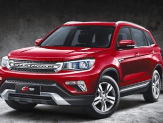 Changan Motors unveils CS SUV