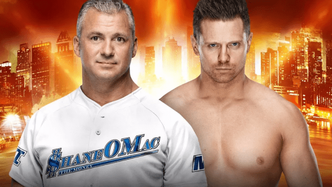 The Miz vs Shane McMahon result