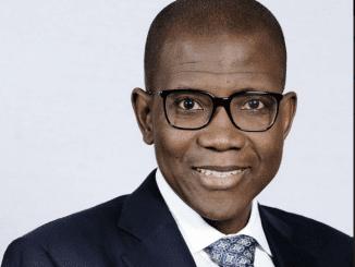 Yinka Sanni the Regional Chief Executive Western Africa Standard Bank
