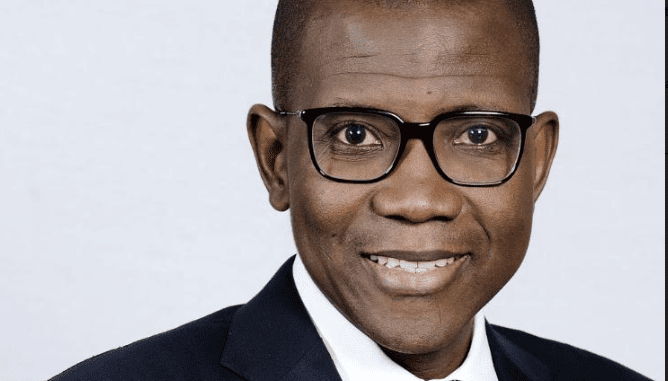Yinka Sanni the Regional Chief Executive Western Africa Standard Bank