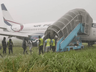 How Air Peace plane landed in a bush in Port Harcourt