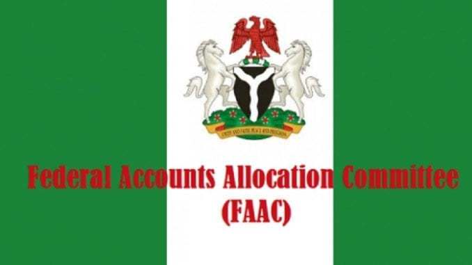 FAAC allocation December