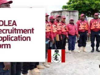 ndlea recruitment