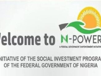 N-power Portal Login npvn.npower.gov.ng/login 2020/2021 – Update Your Account