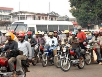 roads banned from Okada in lagos