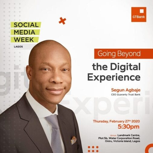 Why GTB will win Digital Payment Space — Segun Agbaje
