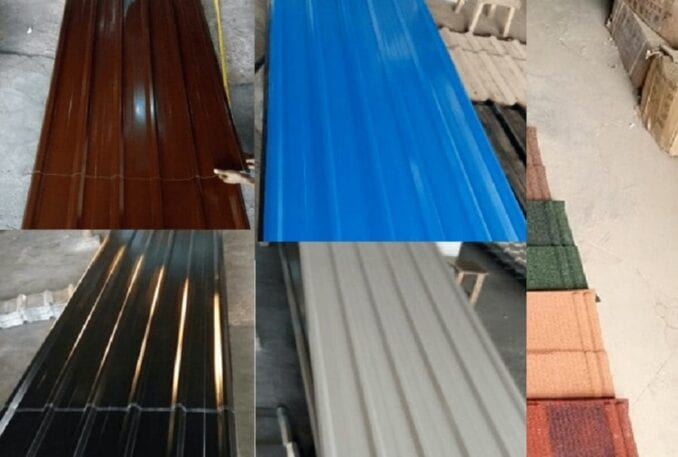 Various types of Roofing Sheets in Nigeria current Prices