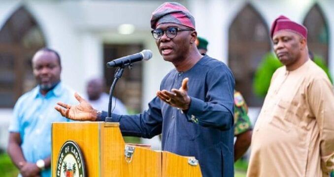 Lagos state governor Mr Babajide Sanwo Olu