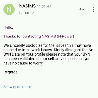N power How To Fix No BVN Data Issue