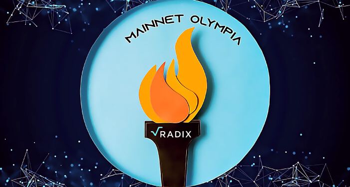 Radix announces that its 'Olympia mainnet is now live
