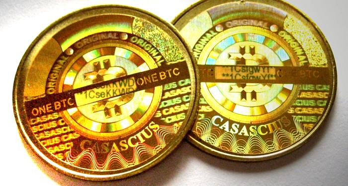 Casascius Physical Bitcoin Collection Grows Scarcer