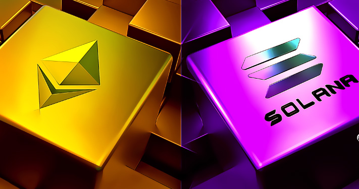 Ethereum ETH and Solana SOL the Top Altcoins of August 2021